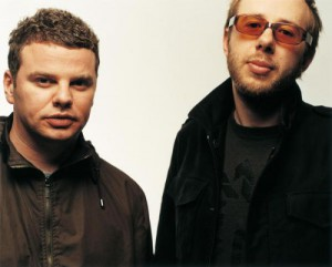 Ed Simons (tv) og Rom Rowlands - The Chemical Brothers