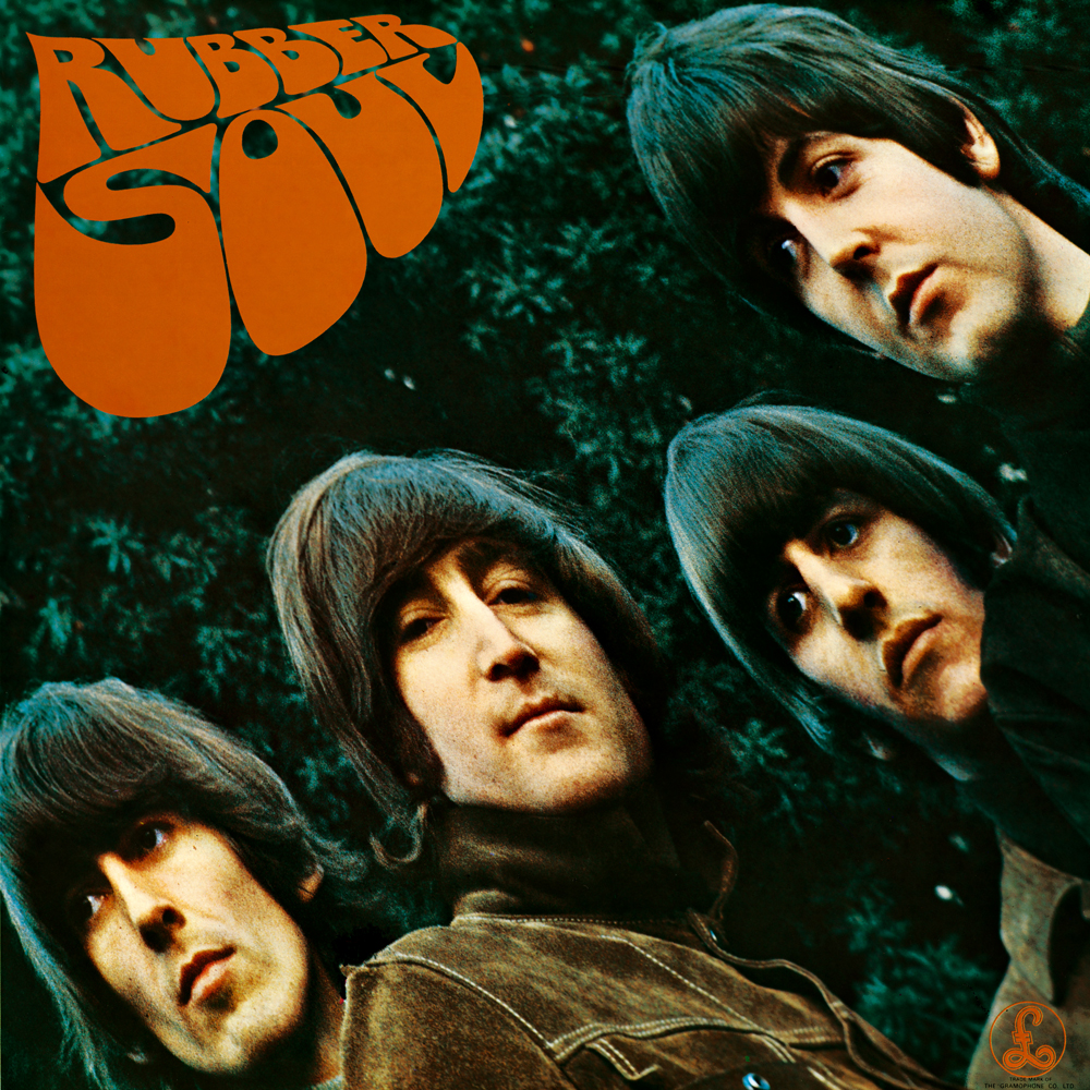 Coveret til albummet 'Rubber Soul' (1965), som'The Word' er på.