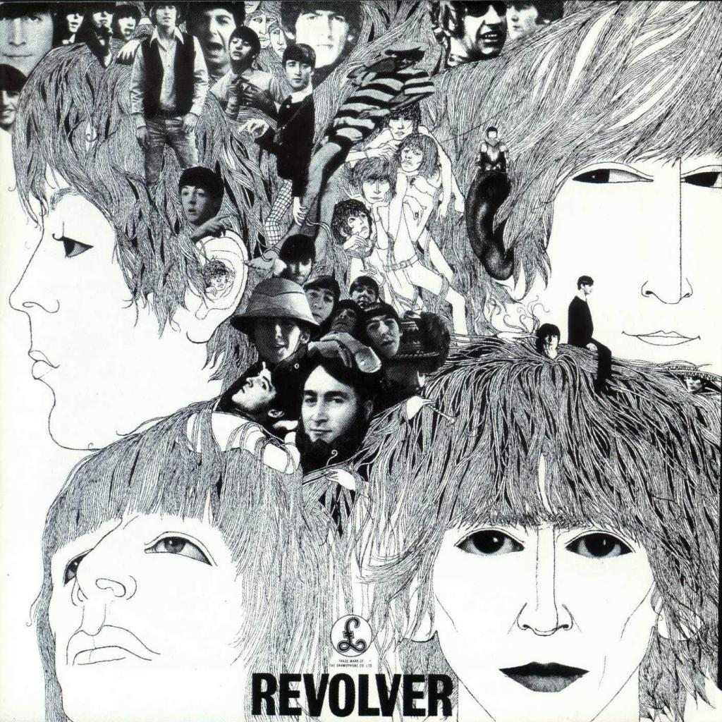 Cover til The Beatles - Revolver