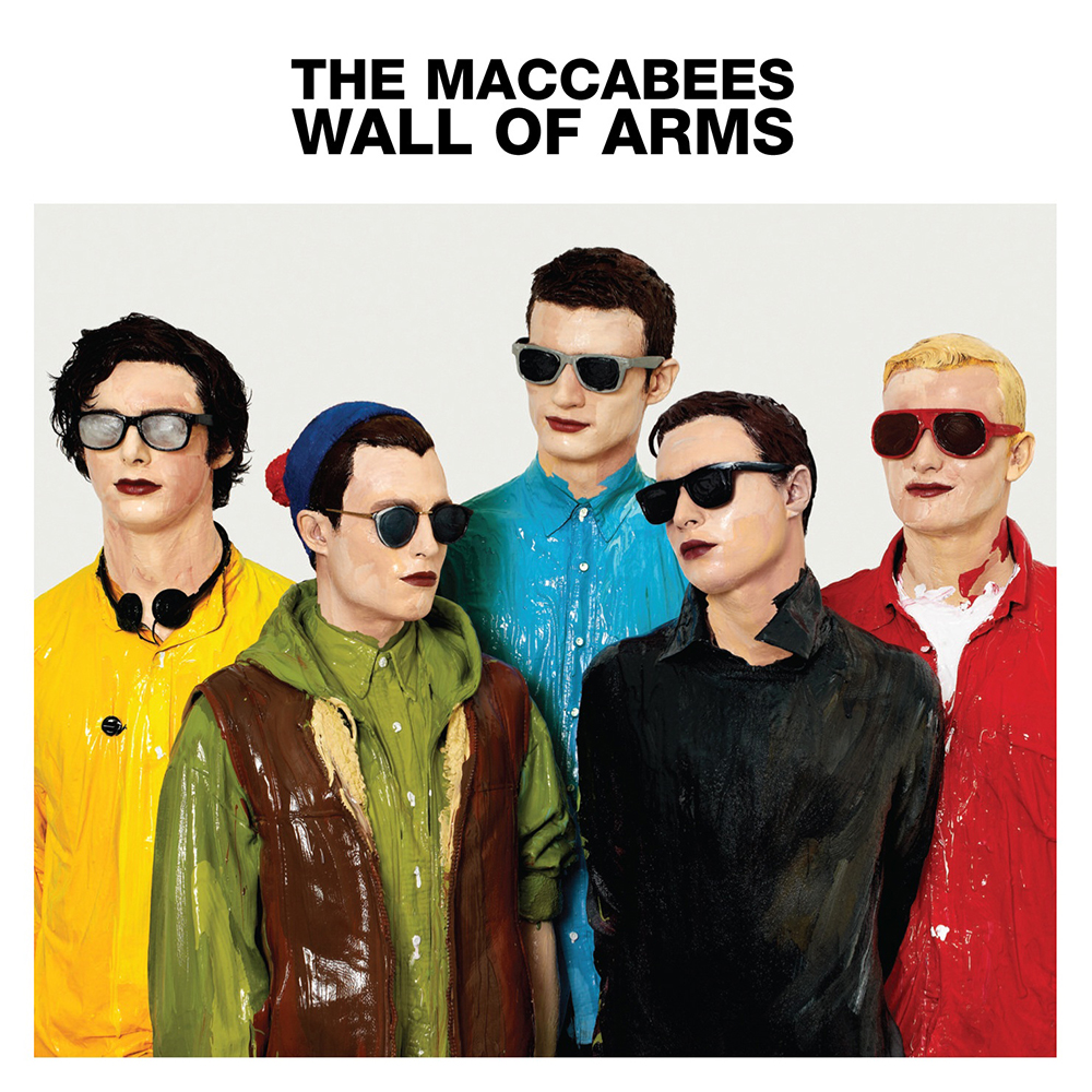 The Maccabees' 'Wall Of Arms'-album, hvor 'Can You Give It' ligger på.
